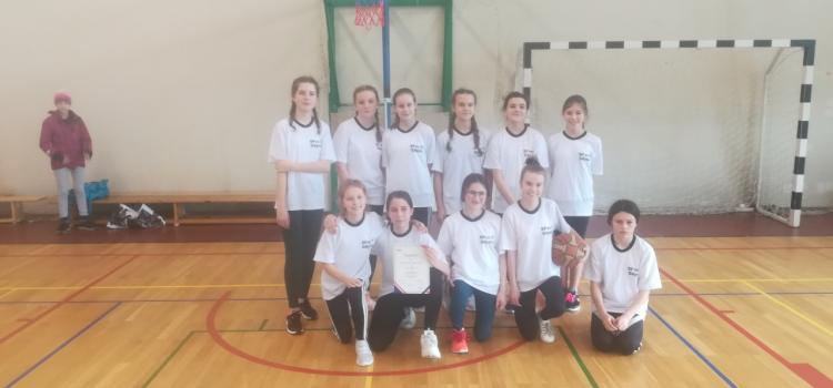 Mistrzostwa Rejonowe w Piłce Koszykowej dziewcząt