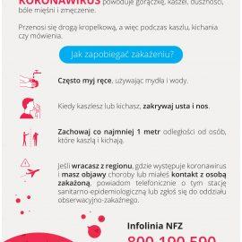 Koronawirus – jak postępować?